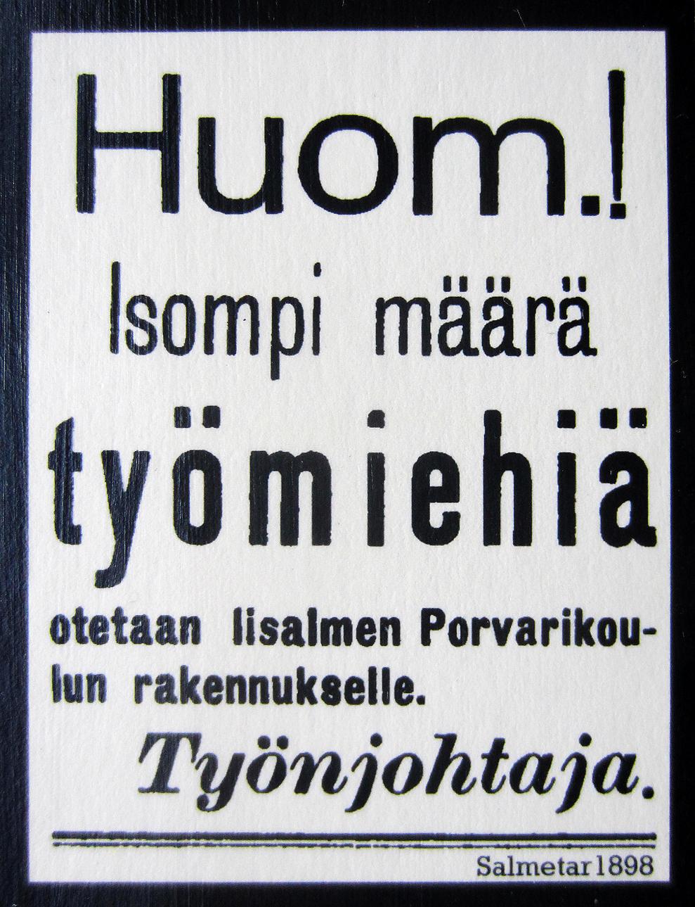 suomen yleisin ammatti Haapavesi